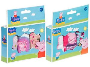 Potty Training with Peppa Pig knickers