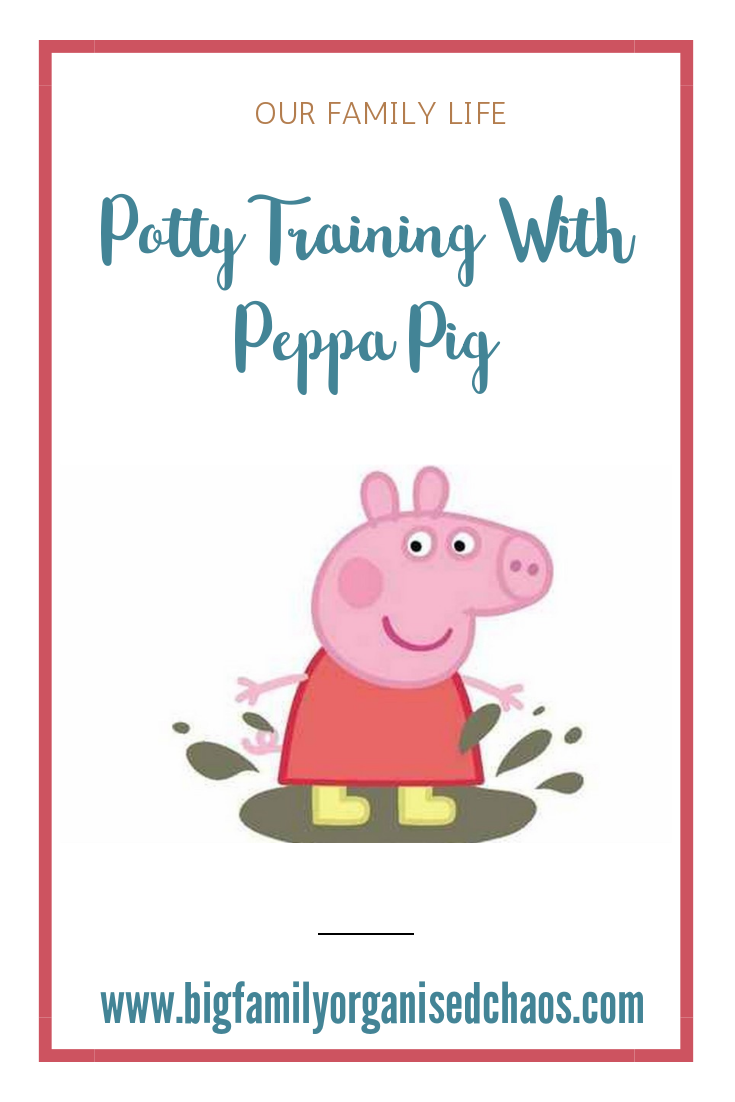 Potty training can be a very stressful time, but for us the solution was the little pink pig named Peppa, who knew!