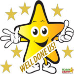 Gold Star Linky from KiddyCharts Reward Charts