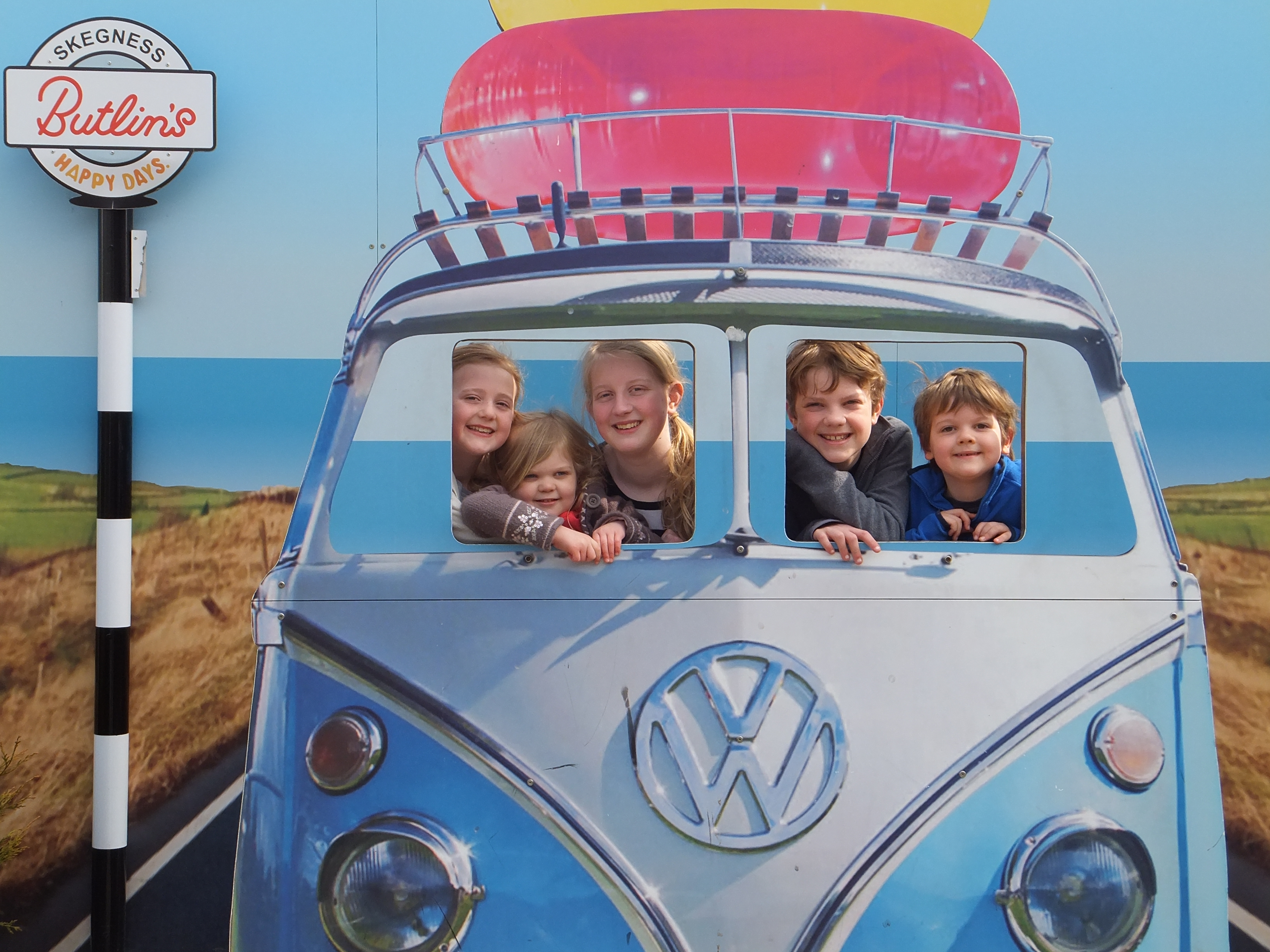Butlins Skegness Daytime Activities VW photo opp