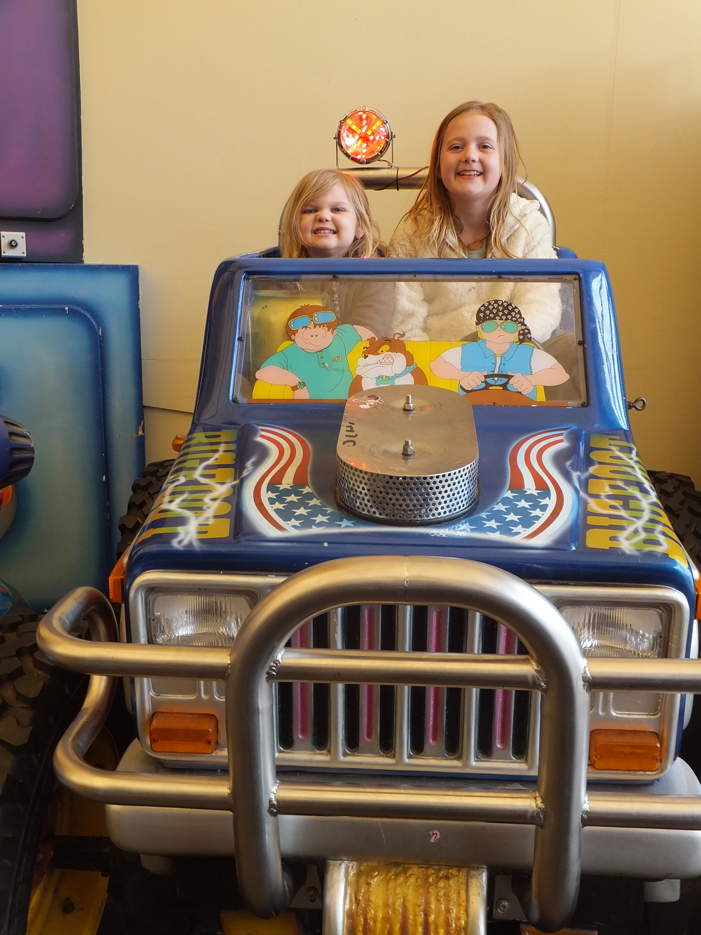 Butlins Skegness Daytime Activities arcade rides