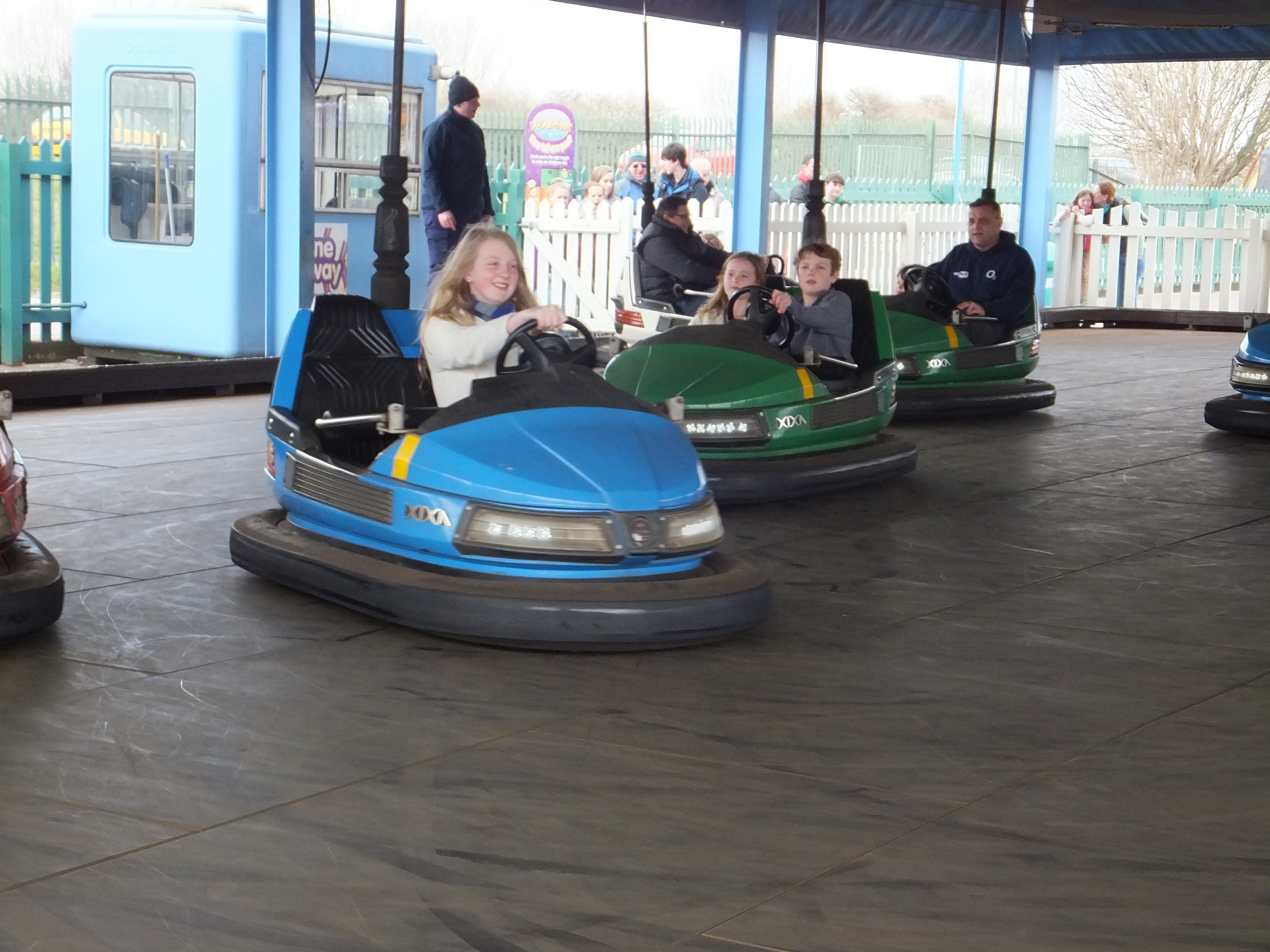 Butlins Skegness Daytime Activities funfair dodgems
