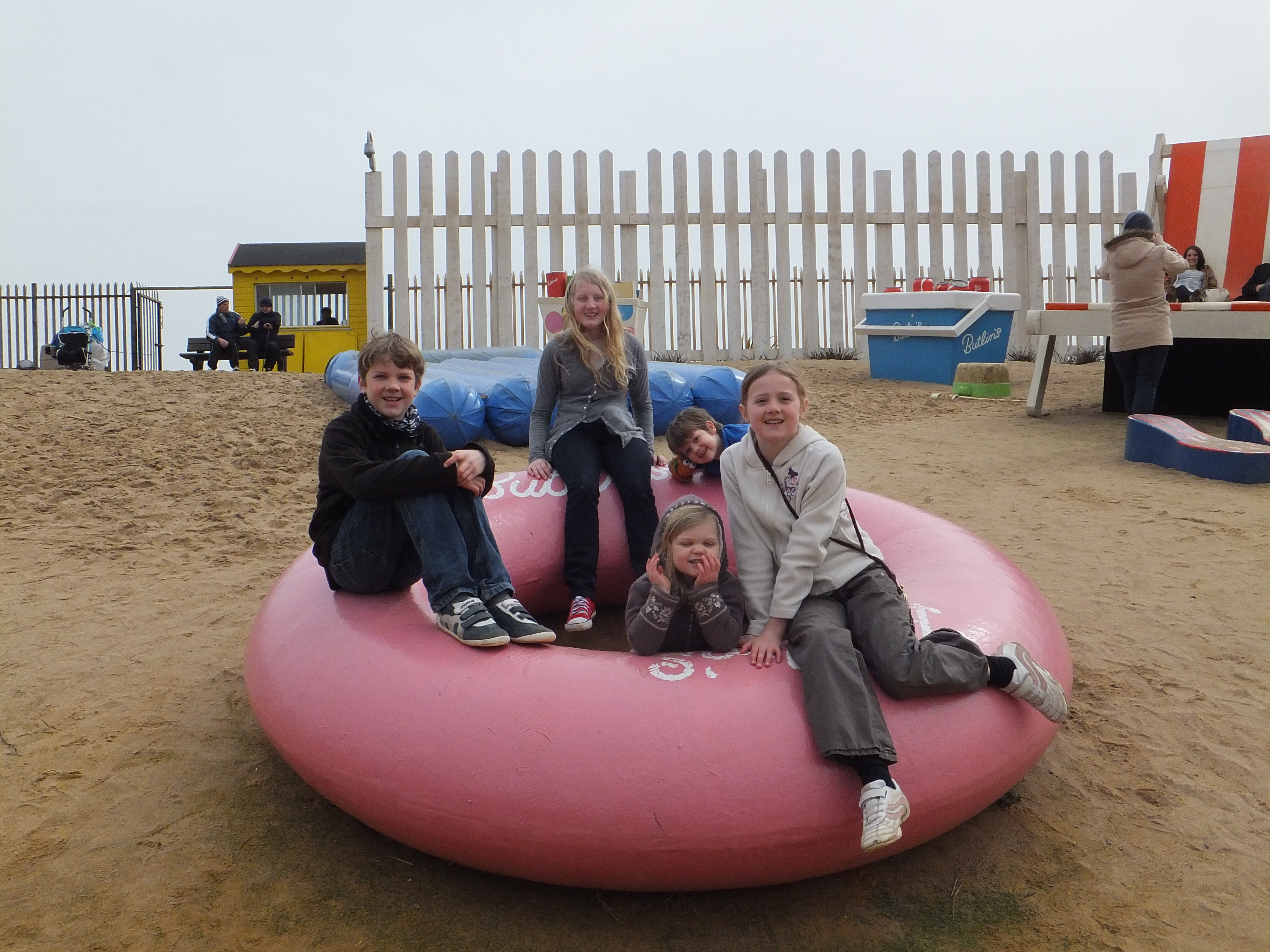 Butlins Skegness Daytime Activities Giant Beach Area
