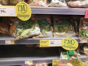 Four leaf salad permanently cheaper