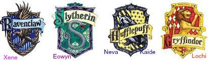 hogwart houses kids