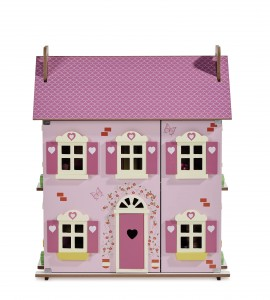 WOODEN DOLLS HOUSE (4)