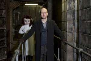 Thorpe park announce Derren Brown's collaboration 'Derren Brown's Ghost Train' which will reinvent the classic theme park attraction for the 21st Century. Derren has been working on ideas for the attraction. The Victorian theming of the site – abandoned, dark and mysterious - fits with the Victorian theme of the attraction. Pix: TIM ANDERSON
