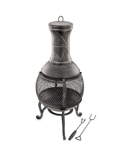 Steel-Pewter-Chimenea-A