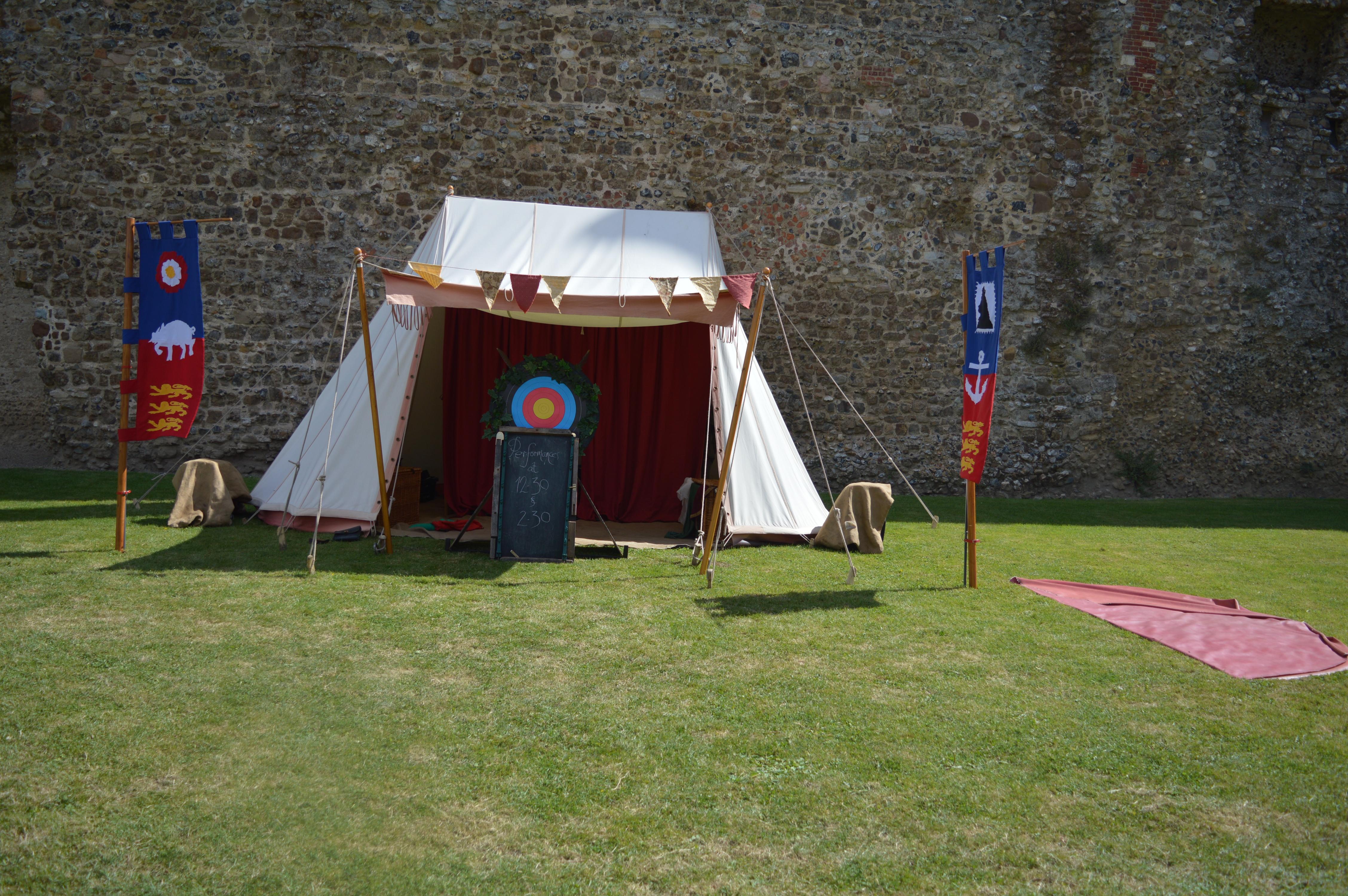 Framlingham Performance tent
