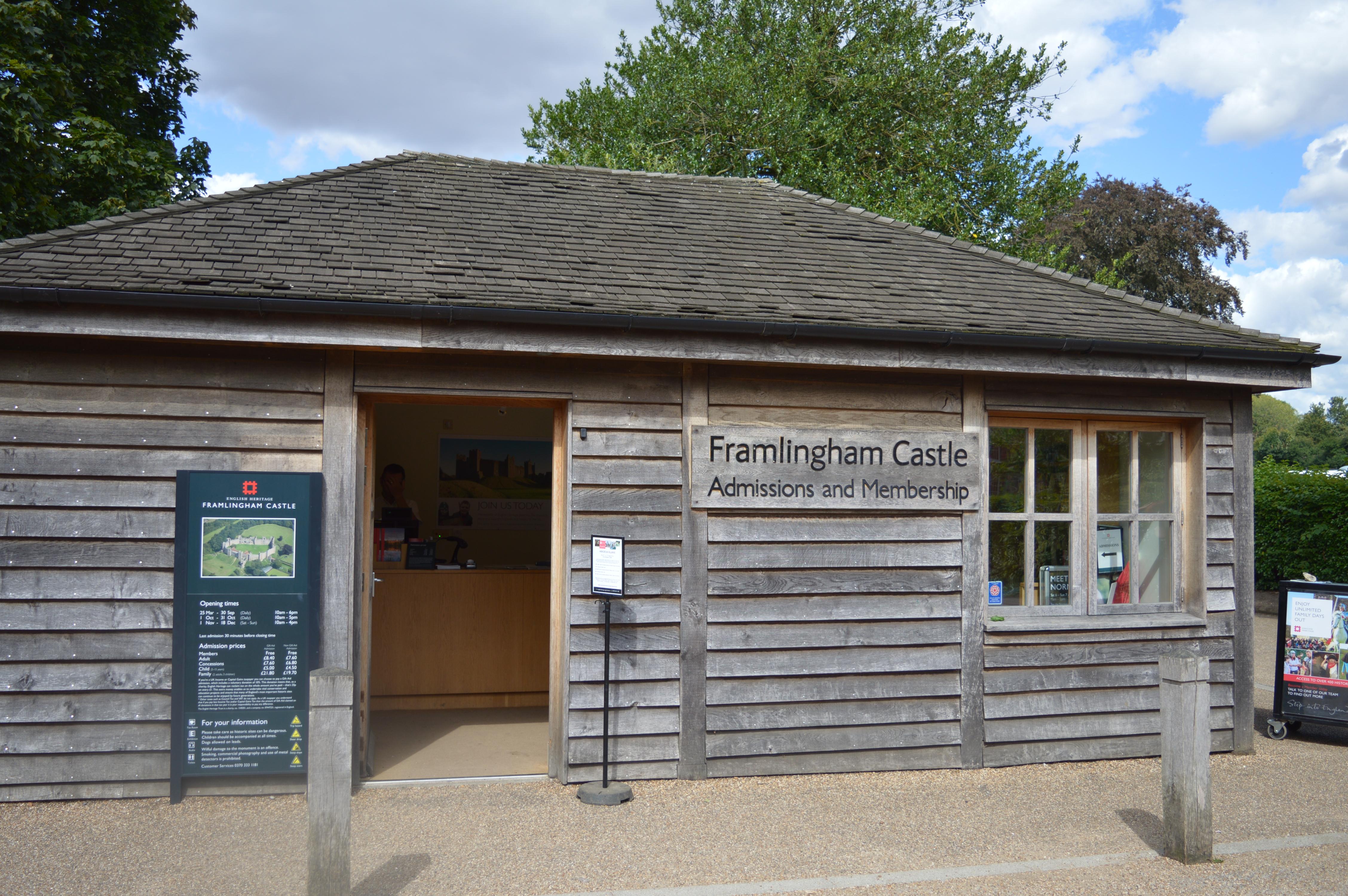 Framlingham entrance