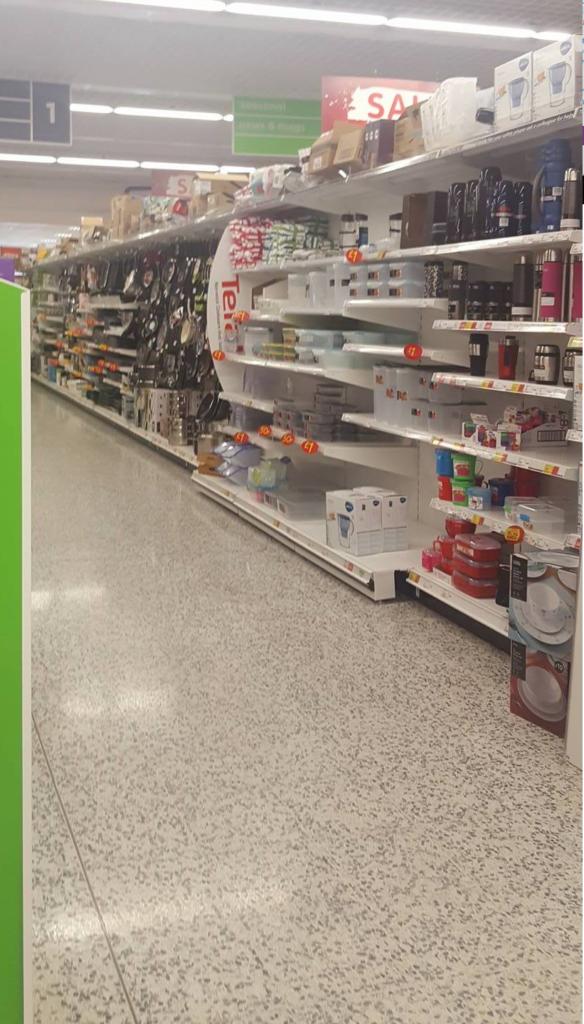 asda aisle