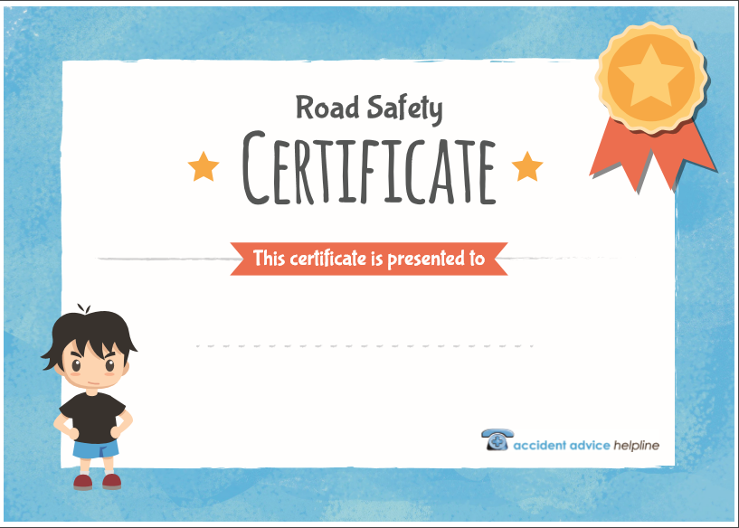 road safety certificate