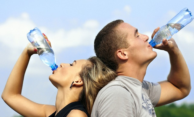 better care of yourself by drinking more water