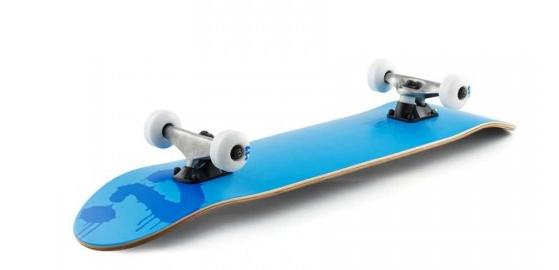 enuff logo skateboard in blue