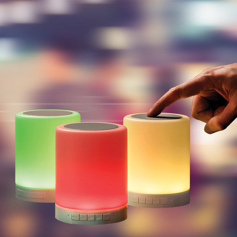 smooz colour changing light and speaker