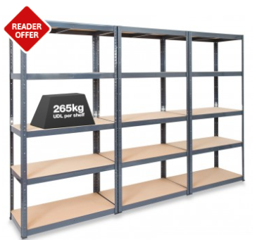 tufferman shelving perfect for fathers day