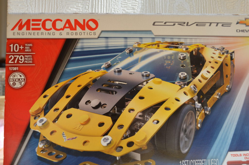 Meccano Corvette Box