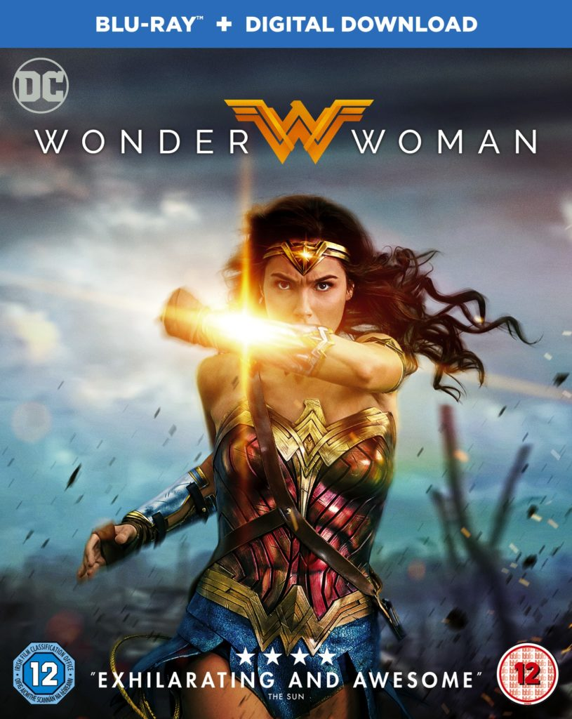 Wonder Woman out on Blu Ray and DVD 9th October