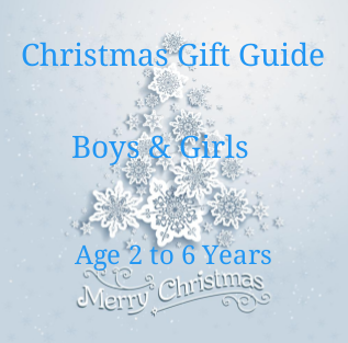 Christmas Gift Guide for Boys and Girls 2-6 years