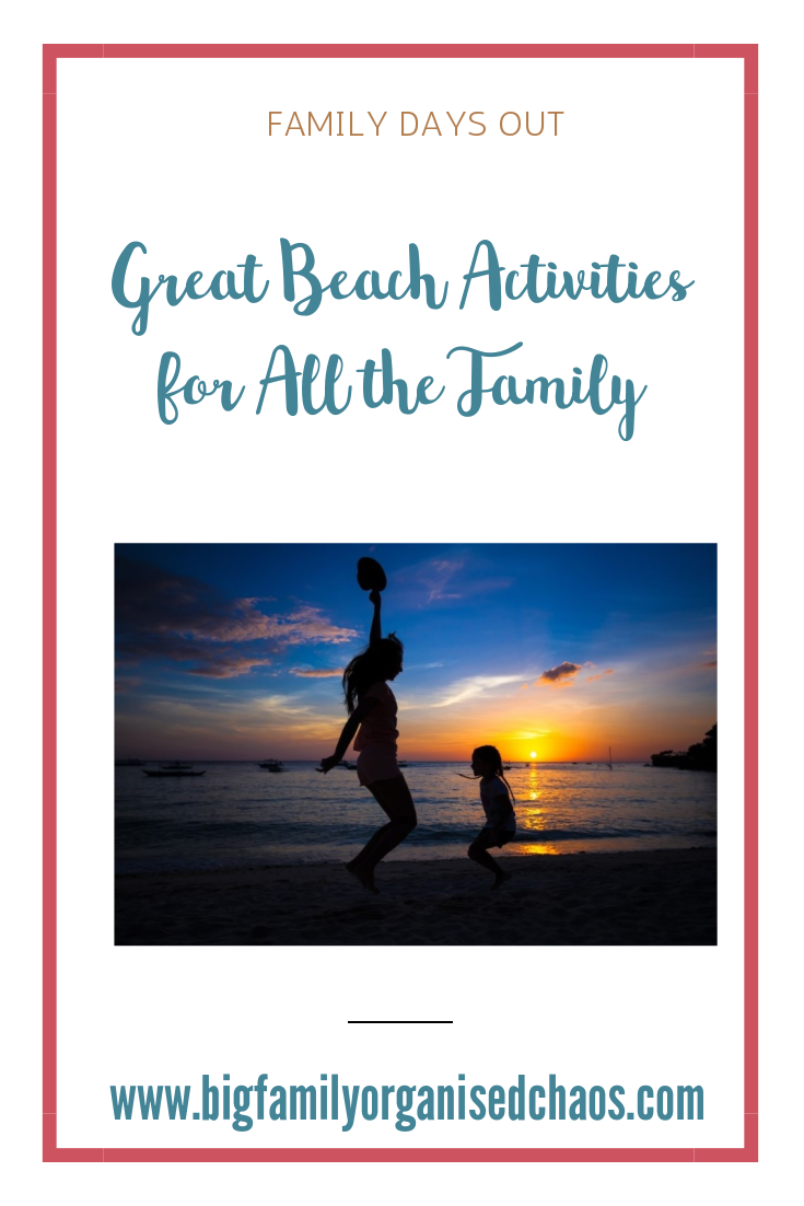 Visits to the beach can be amazing, but if your children are slightly too old for buckets and spades, you need to think of other activities, click through to find out some great beach activities for all the family
