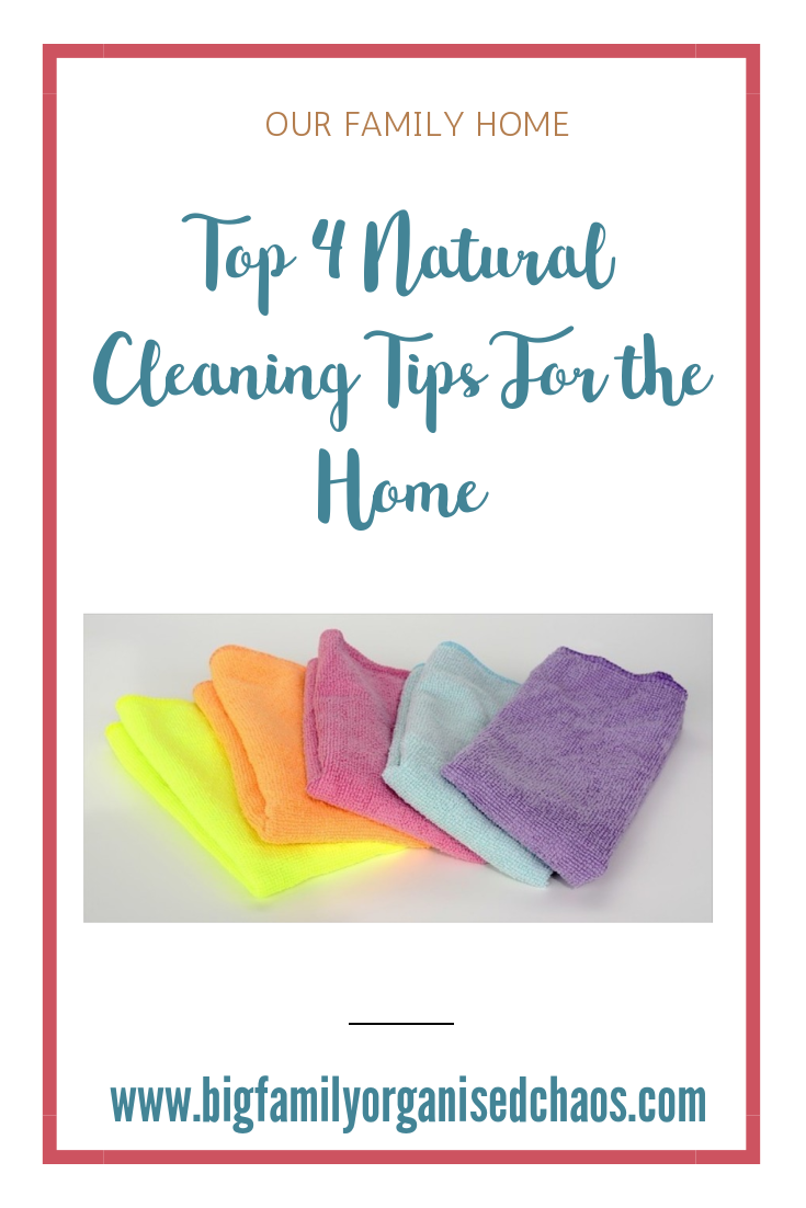 The chemicals in cleaning fluids could potentially be damaging to yourself and the environment, check out these 4 natural cleaning tips for the home