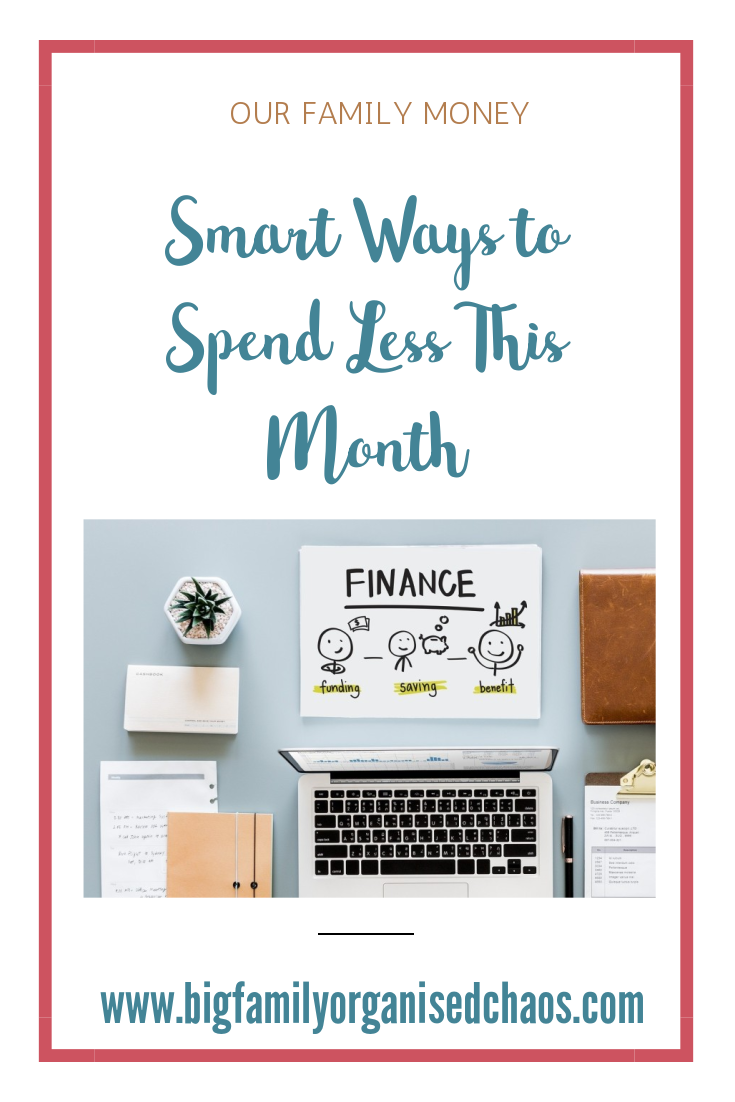 If you are struggling to have any money left at the end of the month, click through to find out smart ways to spend less this month