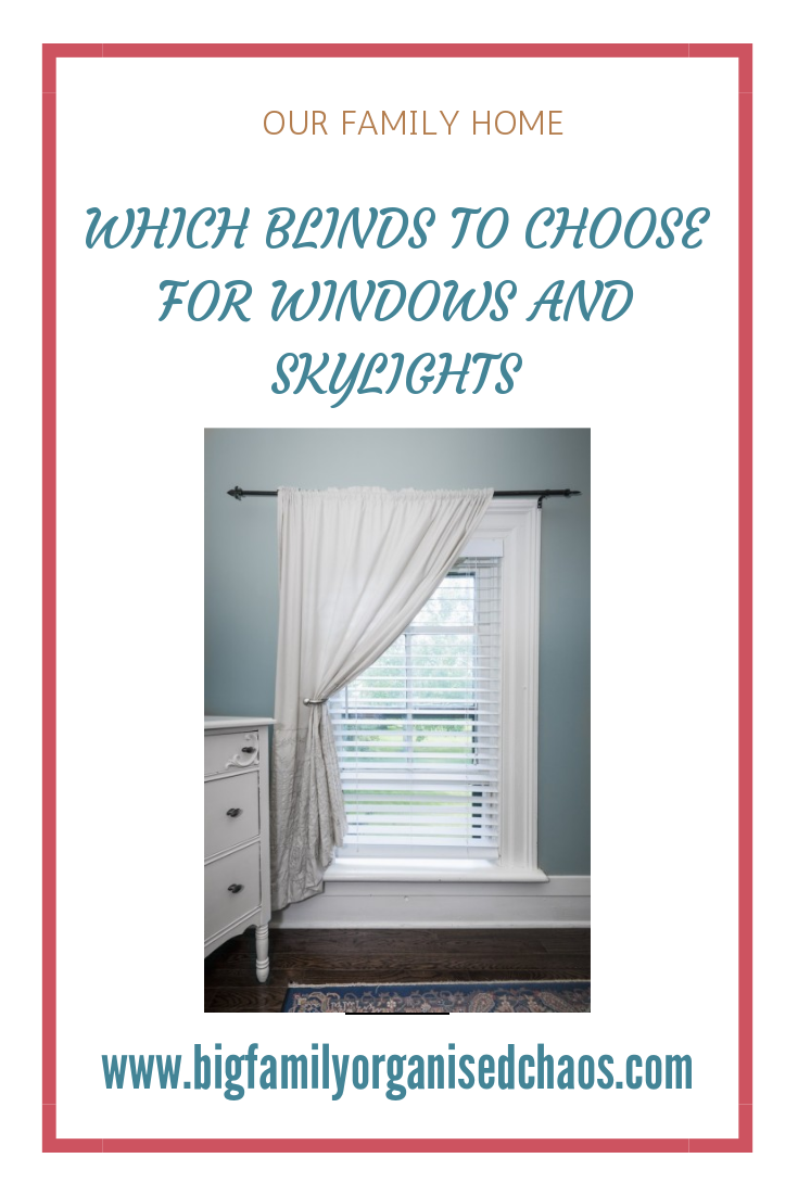 Which blinds should you choose for windows and skylights, there are so many choices from roman blinds to venetian, click through to find out more about all the different blinds that can dress a window.