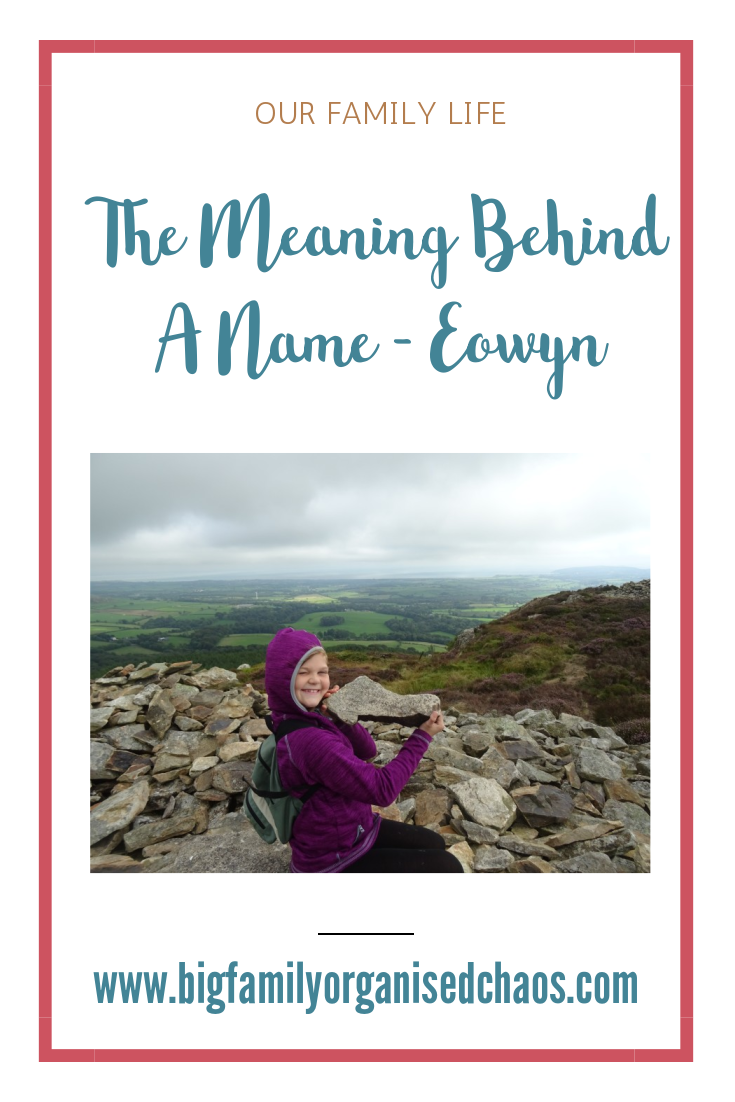 All of our childrens names have a special meaning to us, the meaning behind Eowyns name is lover of horses, click through to find out why we chose that name.