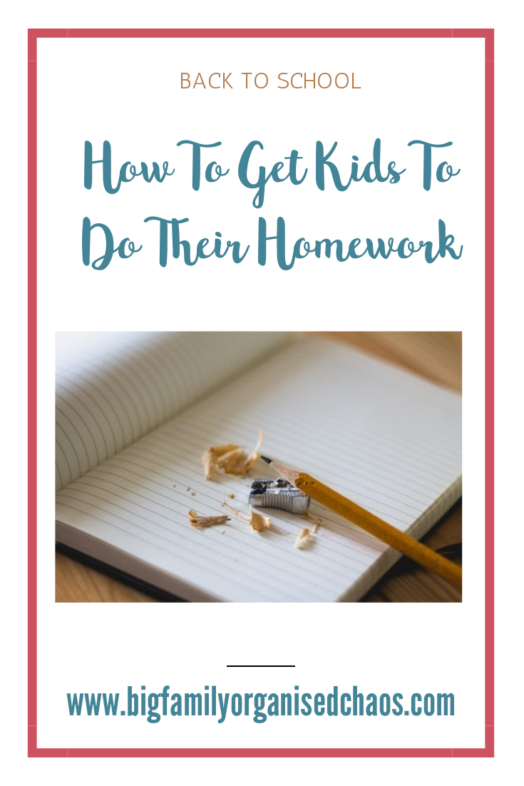 Lets be honest nobody likes homework, click through to find out how to get your kids to do their homework