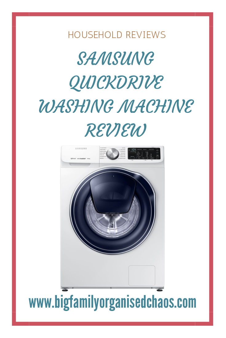 Having a large family, finding a washing machine that is up to the job is essential, click through to find out if the Samsung QuickDrive Washing Machine is the one for you