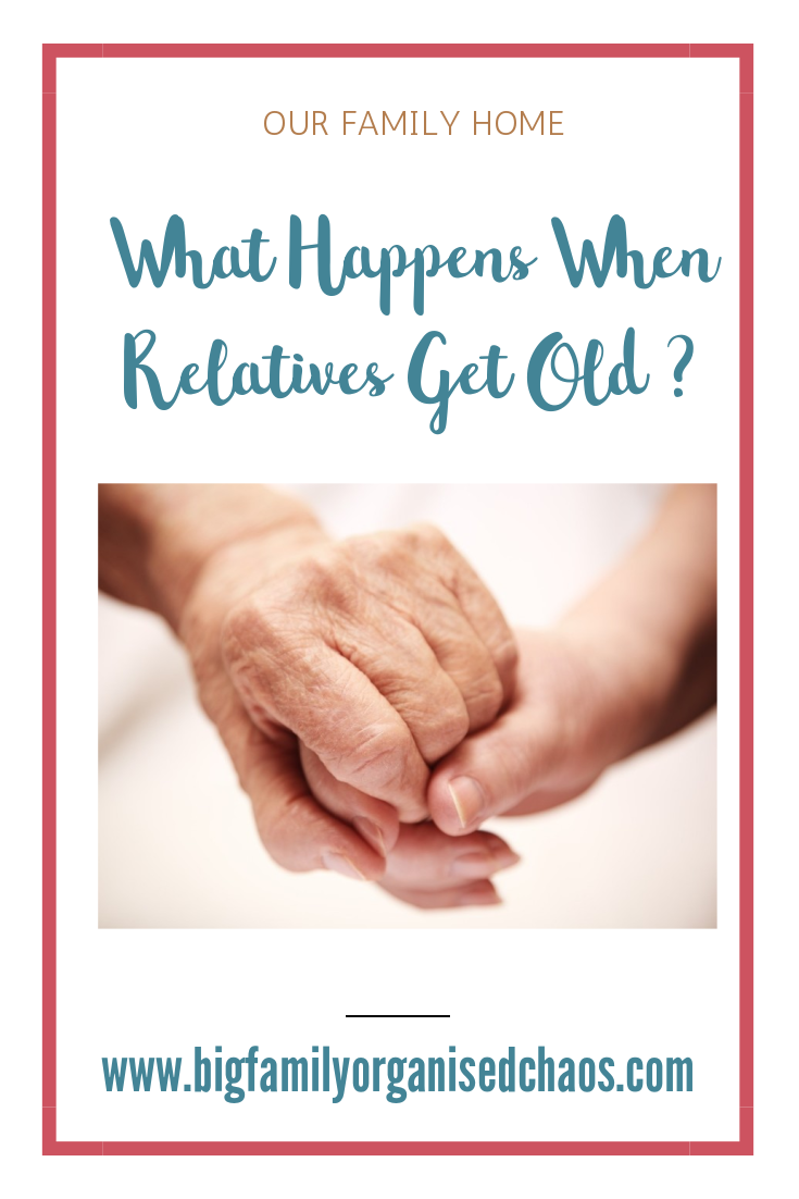 Nobody likes to think about their parents or grandparents getting old but its something will all have to face at some time, click through to find out what happens when relatives get old
