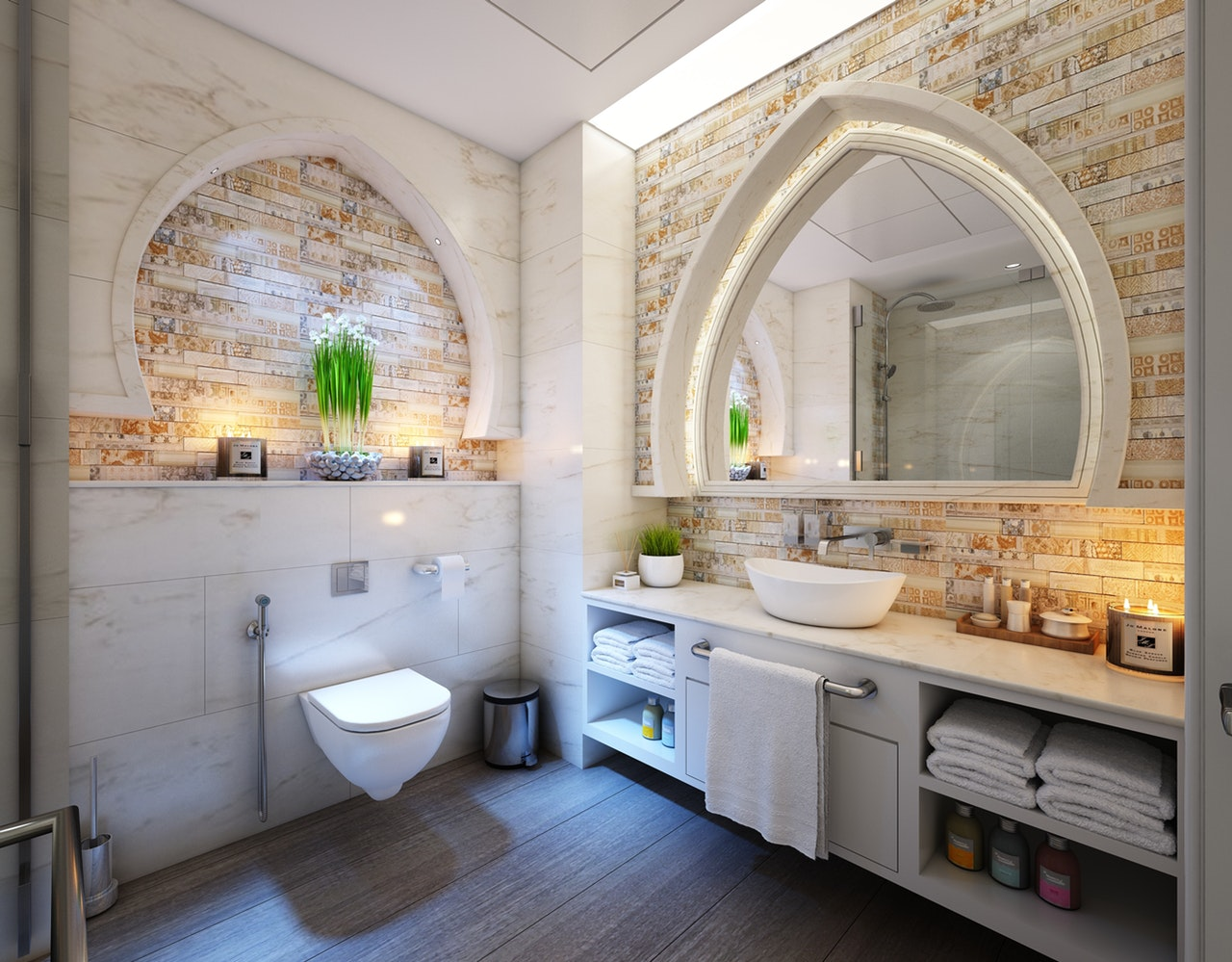 Making a bathroom more family friendly