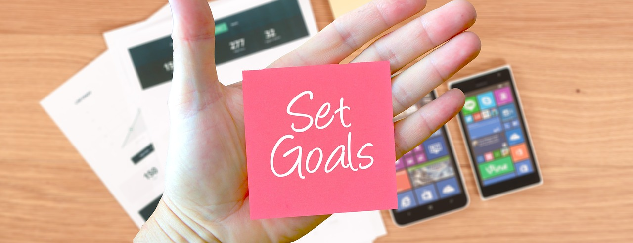 Set goals and be more productive