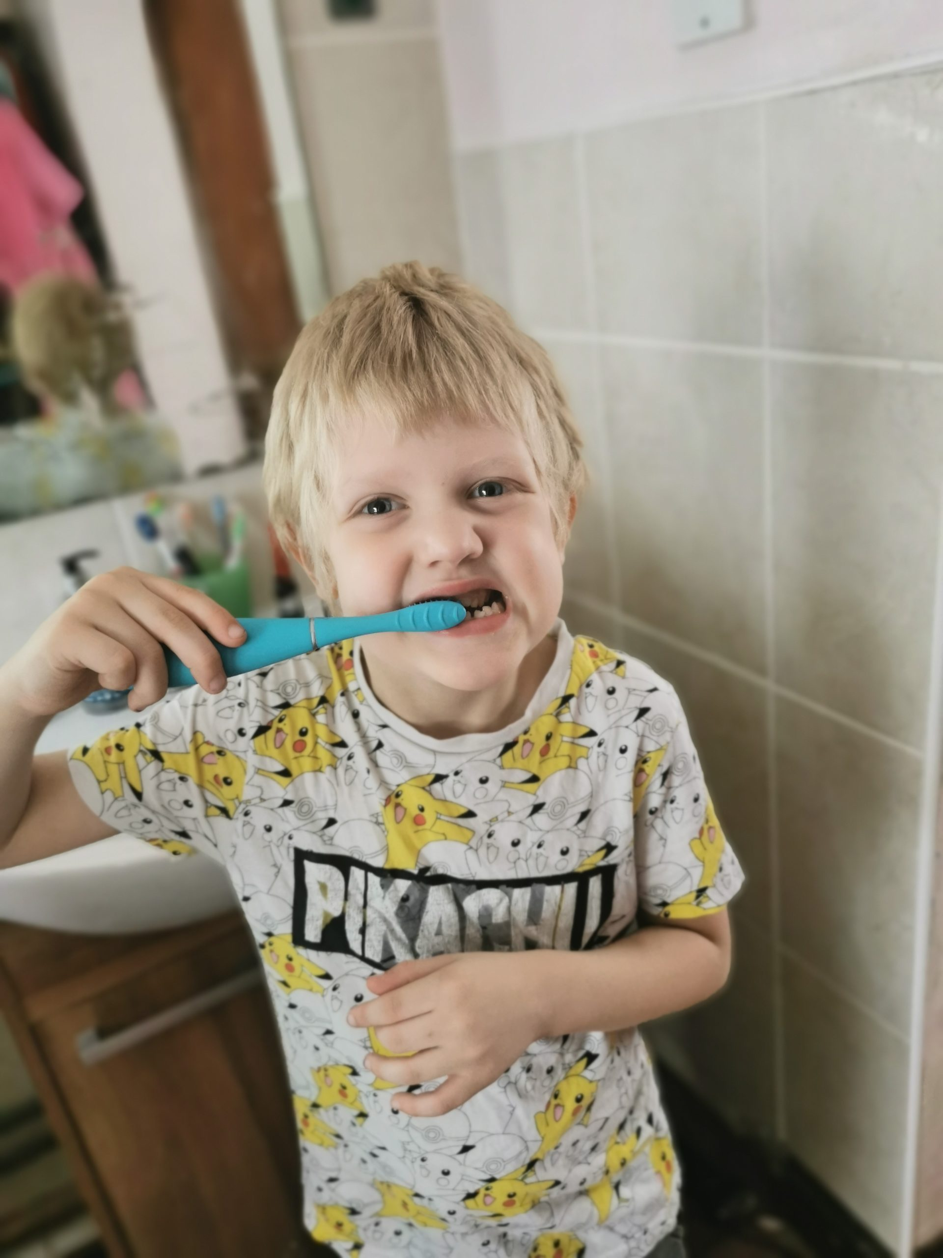 making toothbrushing fun