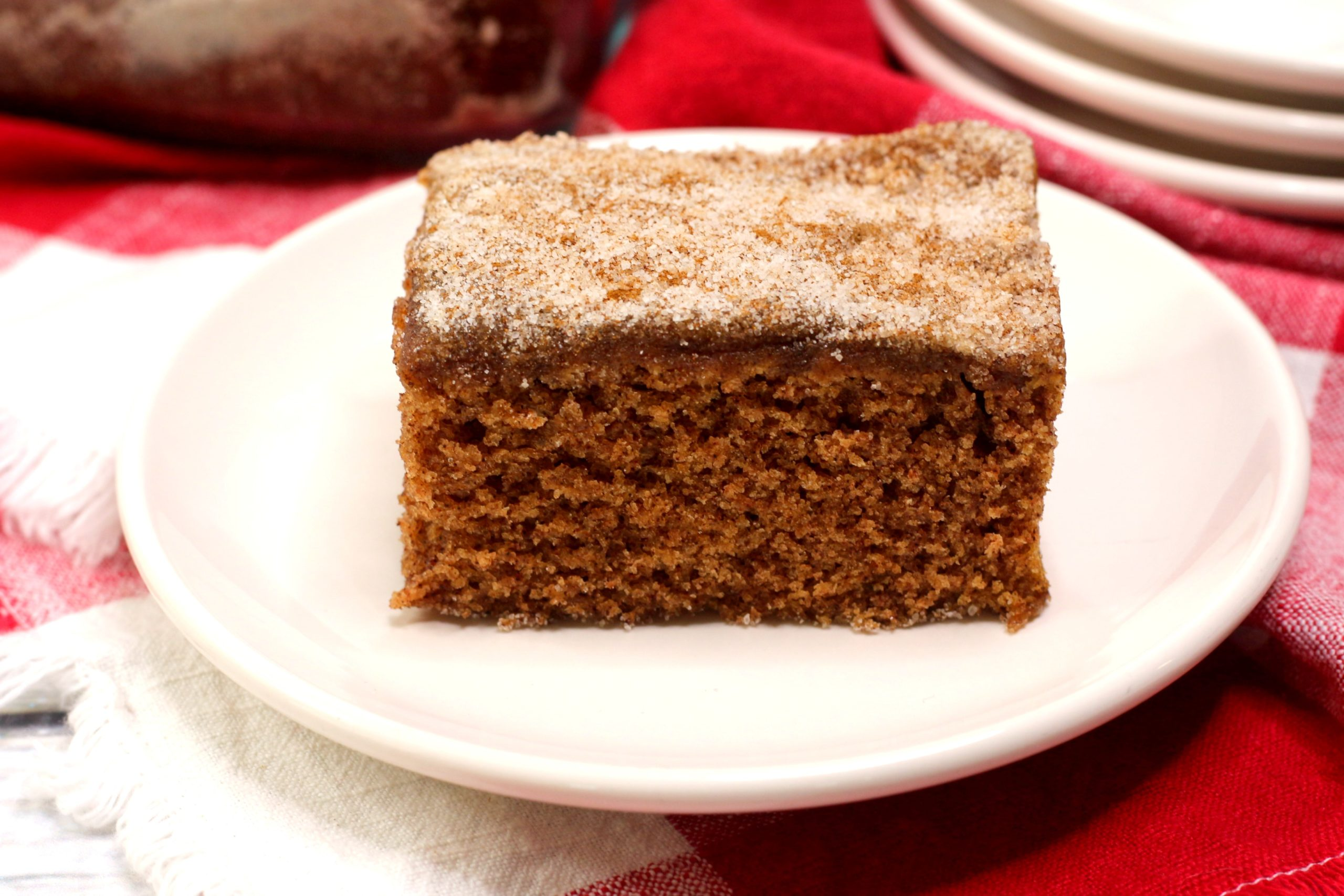 Snickerdoodle Depression Cake