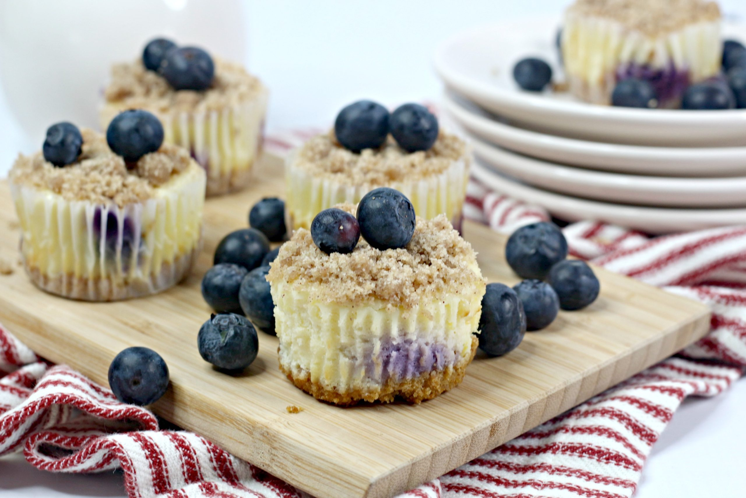Blueberry Cheesecake Crumble