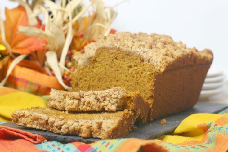 Pumpkin Crumble bread