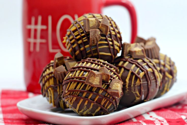 Reese's Hot Cocoa Bombs
